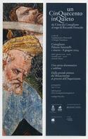 Marque-page Italien - Art - Peinture - Un Cinquecento Inquieto Da Cima Da Conegliano Al Rogo Di Riccardo Perucolo - Bookmarks
