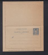 Carte-Lettre 15 C - Ganzsachen