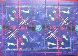 Kazakhstan  1997  Cosmonautics Day   M/S  MNH - Kazakhstan