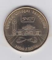 Limoges SNCF Gare De Limoges Bénédictins 1929-2009 - Monnaie De Paris