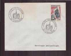 """Enveloppe Avec Cachet Commémoratif """" Foire-Exposition """" Du 31 Août 1969 à Libourne - Marcophilie (Lettres)"""
