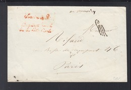 Lettre Liste Civile 1855 - Poststempel (Briefe)