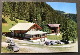 Lenk Hotel Iffigenalp/ Oldtimer Autos/ Photo Gyger Adelboden - BE Berne