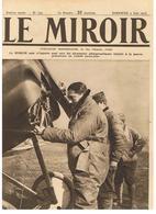 LE MIROIR N°132 Du 04/06/1916 Le Pilote BOILLOT Prêt à S'envoler Pour Le Combat Où Il Y Trouva La Mort - Français