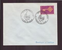 """Enveloppe Avec Cachet Commémoratif """" Arts Et Philatélie """" Du 3 Mai 1969 à Conches-en-Ouche - Marcophilie (Lettres)"""