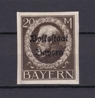 Bayern - 1920 - Michel Nr. 133 B - Ungebr. - Bayern