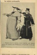 Illustrateur Sa Sainte Cochonaille - Durant Tout Le Carème ,nous Vendons Aux Bonnes Poires Du Cochon , Des Indulgences - Humor
