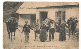 Luchon - Bucherons De La Vallée De L'Arboust  -  CPA ° - Luchon