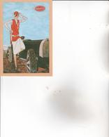 CPA 45 BRIARE ,Musée De L'Automobile ,( Affiche BUGATTI ). ( CPM De 10x15) - Briare