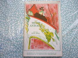 Théâtre Antoine / Les Parents Terribles De Jean Cocteau : Jean Marais Madeleine Robinson ... - Programas