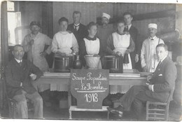Le Roeulx NA25: Soupe Populaire 1918 ( Photo-carte ) - Le Roeulx
