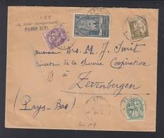 Lettre Paris 1932 A Zevenbergen Hollande - Poststempel (Briefe)