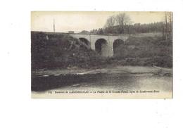 Cpa 29 - Landerneau - Viaduc De La Grande Palud -- Ligne De Landerneau - Brest - N°115 - - Landerneau