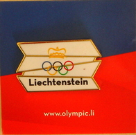 Liechtenstein : Pin Des Olympischen Komitees Olympic Committee (www.olympic.li) - Jeux Olympiques