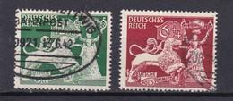 Deutsches Reich, Nr. 816/17, Gest. (T 15772) - Deutschland