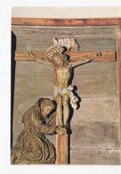 Italie - Latium - Rieti - St François Priant Aux Pieds Du Crucifix XVIIe Siècle - Rieti