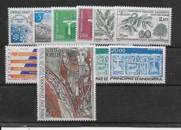 Andorre Année Complète 1984 - Neuf **sans Charnière - TB - Années Complètes