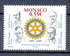 MONACO   (WER 001) - Rotary, Lions Club