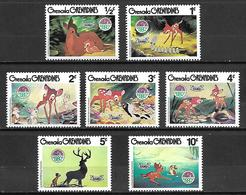 GRENADA   Grenadines   -   Série  BD  -   Bambi. - Comics