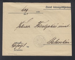Hungary Cover 1904 Zavod To Malaczka - Briefe U. Dokumente