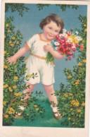 4812744Meisje Met Bloemen. – 1937. (minuscule Vouwen In De Hoeken) - Altri