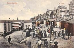 Blankenberghe - A La Plage (animée Colorisée, Grandes Galeries Belges, Blankenberghe 1910) - Blankenberge
