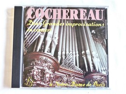 COCHEREAU, Deux Grandes Improvisations En Concert, à Notre Dame De Paris - Opéra & Opérette