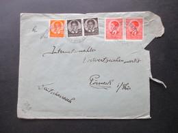 Jugoslawien König Peter II. 1940 MiF Zensurbeleg / OKW Zensurstreifen Geöffnet - 1931-1941 Kingdom Of Yugoslavia