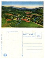 Panoramic View Of Cherokee Indian Reservation, Western North Carolina - Native Americans