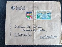 TIMBRES SUR ENVELOPPE - France