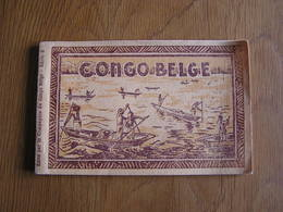 CONGO BELGE Carnets De 10 Cartes Edité Par La Compagnie Du  Congo Belge CPA Carte Postale Postkaart - Cartes Postales
