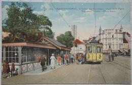 CPA BLANKENBERGE TRAM Station Gare Du Tram Vicinal Dijk - Blankenberge