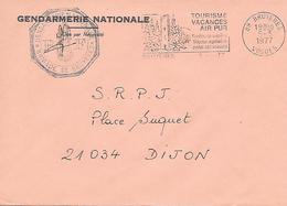 GENDARMERIE NATIONALE  - ( 88 ) Bruyeres - Mechanical Postmarks (Advertisement)