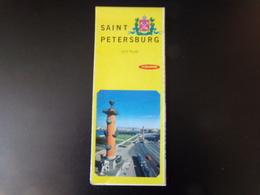 "City Plan "" Saint Petersburg "" - Maps/Atlas"