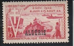 ALGERIE  10e Anniversaire De La Libération  N° 312 ** - Unused Stamps