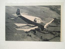 """Avion De Tourisme """"Jodel""""  Ets JODEL Blagnac -  Pour Vol De Nuit Radio VHF   - Coupure De Presse De 1956 - GPS/Aviación"""