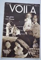 Revue VOILA 1932 N°51 A L'est Quoi De Nouveau Aux Urnes Mesdames Boxe Briand Paix Eugénisme Amoureux Transis Trebitsch - 1900 - 1949