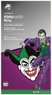 """PORTUGAL - """"meuselo"""" - DC Comics The Joker (4 Self-adhesive Stamps) - Fairy Tales, Popular Stories & Legends"""