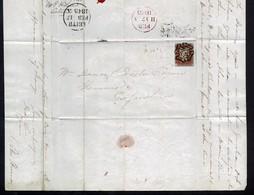 GB LEITH PENNY REDS MALTESE CROSS 1842/44 - 1840-1901 (Regina Victoria)
