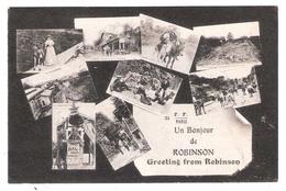 Le Plessis-Robinson (92 - Hauts De Seine) Un Bonjour De Robinson - Le Plessis Robinson