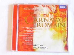 BERLIOZ, Ouvertures, Overtures, Le Carnaval Romain, Charles Dutoit - Classique