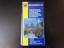 Carte Thaïlande / Malaisie, Vietnam / Cambodge, Laos / Myanmar - Cartes