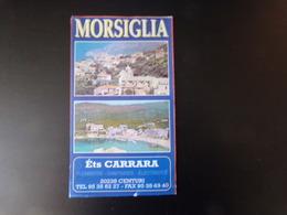 Carte Morsiglia - Cartes