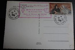 Visite Du Général DE GAULLE A 10/12/1959 - Mauritanie (1906-1944)