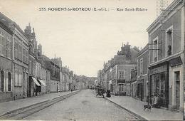 NOGENT- LE- ROTROU-  1939 - RUE SAINT- HILAIRE - Nogent Le Rotrou
