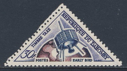 Dahomey 1967 Mi 45 YT 45 SG 317  ** Early Bird Satellite / Fernmeldesatellit - Telecom