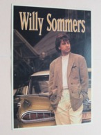 WILLY SOMMERS Optredens > Fanbal 17 Oktober 1992 > Fanclub Lefever Michel Moorslede ( Zie Foto Voor Details ) ! - Handtekening