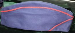 Calot Tissus Bleu Marine T 56 - Casques & Coiffures