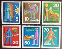 Germany 1970 Voluntary Relief MNH - Nuevos