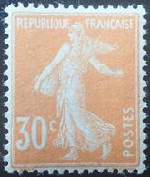R1189/725 - 1907 - TYPE SEMEUSE CAMEE - N°141 NEUF** TRES BON CENTRAGE - 1906-38 Säerin, Untergrund Glatt
